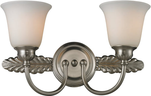 Elk Lighting Ventura 2 Light Bathbar Brushed Nickel 114342