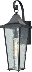 Elk Lighting Vinton 1-Light Outdoor Wall Light Matte Black 87060/1