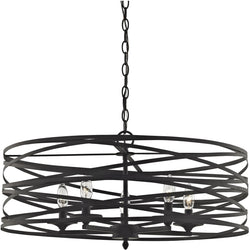Elk Lighting Vorticy 5-Light Chandelier Oil Rubbed Bronze 811865