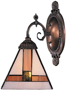 Elk Lighting Mix-N-Match 1-Light Wall Sconce Tiffany Bronze 071TB01