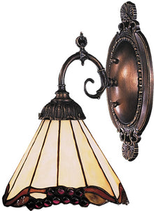 Elk Lighting Mix-N-Match 1-Light Wall Sconce Tiffany Bronze 071TB03
