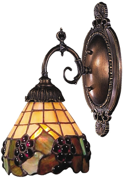 Elk Lighting Mix-N-Match 1-Light Wall Sconce Tiffany Bronze 071TB07
