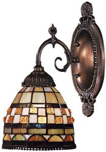 Elk Lighting Mix-N-Match 1-Light Wall Sconce Tiffany Bronze 071TB10