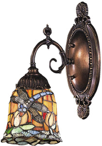 Elk Lighting Mix-N-Match 1-Light Wall Sconce Tiffany Bronze 071TB12