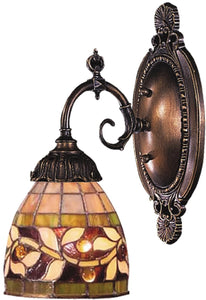 Elk Lighting Mix-N-Match 1-Light Wall Sconce Tiffany Bronze 071TB13
