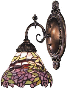 Elk Lighting Mix-N-Match 1-Light Wall Sconce Tiffany Bronze 071TB28