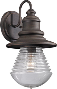 Elk Lighting Westport 1-Light Outdoor Wall Light Weathered Charcoal 47045/1