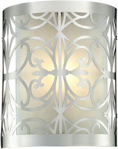 Elk Lighting Willow Bend 1 Light Bathbar Polished Chrome 114301