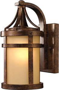 Elk Lighting Winona 1-Light Outdoor Wall Light Hazelnut Bronze 45095/1