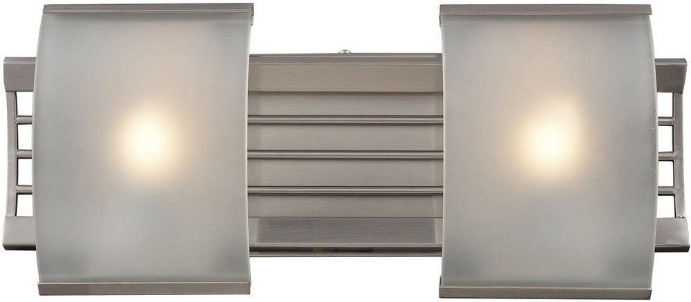 "17""w Winslow 2-Light Bathbar Brushed Nickel"