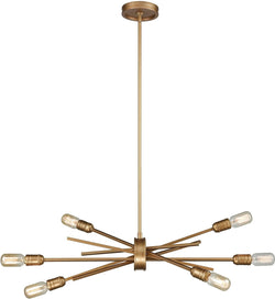 Elk Lighting Xenia 6-Light Chandelier Matte Gold 669716