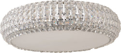 ET2 Bijou 6-Light Xenon Flush Mount Polished Chrome E2180120PC