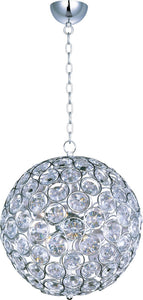 ET2 Brilliant Xenon 8-Light Single Pendant Polished Chrome E2401620PC
