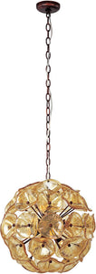 ET2 Cassini 12-Light Pendant Bronze E2209326