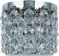 ET2 Dazzle 2-Light Wall Sconce Polished Chrome E2115720PC
