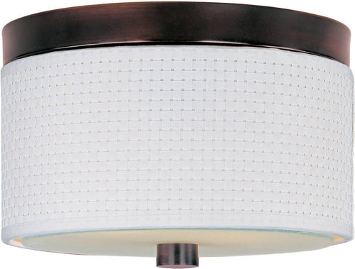 ET2 Elements 2-Light Flush Mount Oil Rubbed Bronze E95000100OI