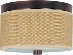 ET2 Elements 2-Light Flush Mount Oil Rubbed Bronze E95000101OI