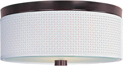 ET2 Elements 2-Light Flush Mount Oil Rubbed Bronze E95002100OI