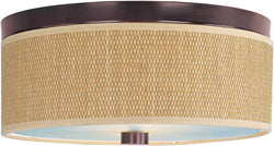 ET2 Elements 2-Light Flush Mount Oil Rubbed Bronze E95002101OI