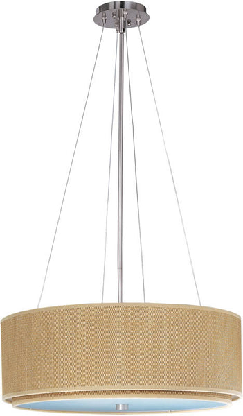 ET2 Elements Fluorescent 4-Light Pendant Satin Nickel E95160101SN