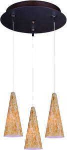 ET2 Lava 3-Light Multi-Light Pendant Bronze E94630103BZ