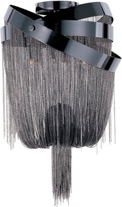 ET2 Mystic Xenon 2-Light Wall Sconce Black Chrome E2285297BC