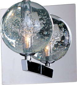ET2 Orb 1-Light Xenon Wall Sconce Polished Chrome E2425091PC
