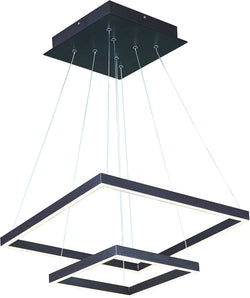 Quad LED 2-Tier Pendant Bronze