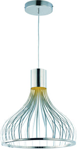 Turbo LED Pendant Polished Chrome