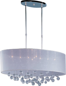 ET2 Veil Xenon 9-Light Single Pendant Polished Chrome E22387120PC