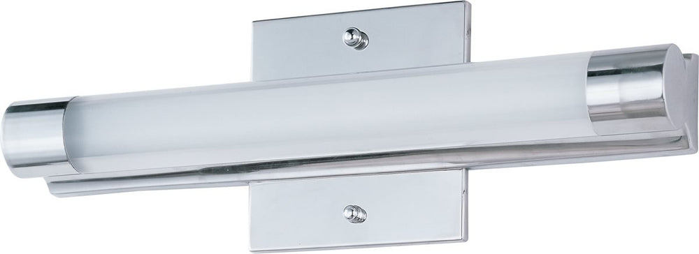 "14""w Wand LED 1-Light Bath Vanity Polished Chrome"