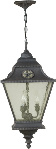 Exteriors Chaparral 3-Light Outdoor Pendant Rust Z141107