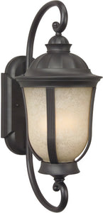 Exteriors Frances II 3-Light Outdoor Wall Oiled Bronze Z612092