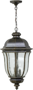 Exteriors Harper 3-Light Outdoor Pendant Peruvian Bronze Z3321112