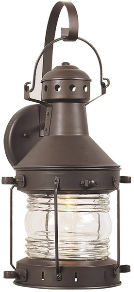 Exteriors Nautical 1-Light Outdoor Wall Burnished Copper Z1147