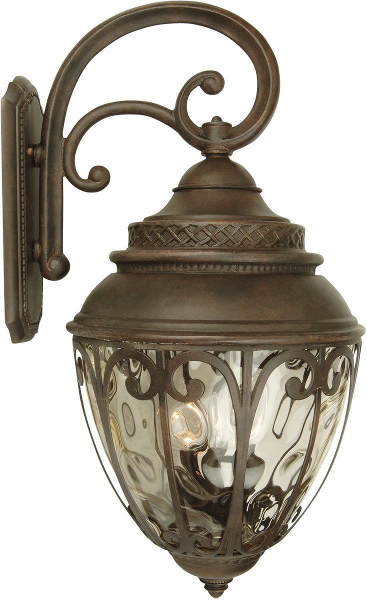"29""h Olivier 4-Light Outdoor Wall Aged Bronze"