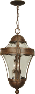 Exteriors Parish 3-Light Outdoor Pendant Aged Bronze Z422198