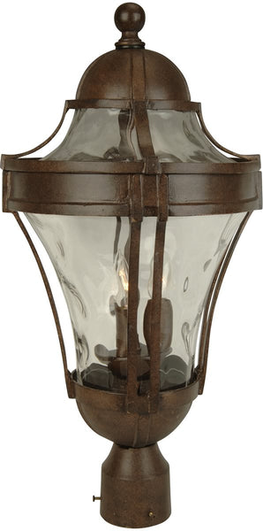 Exteriors Parish 3-Light Outdoor Post Head Aged Bronze Z422598