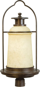 Exteriors Portofino 1-Light Outdoor Post Aged Bronze Z472598