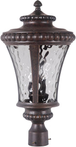 Exteriors Prescott II 3-Light Outdoor Post Mount Peruvian Bronze Z1275112