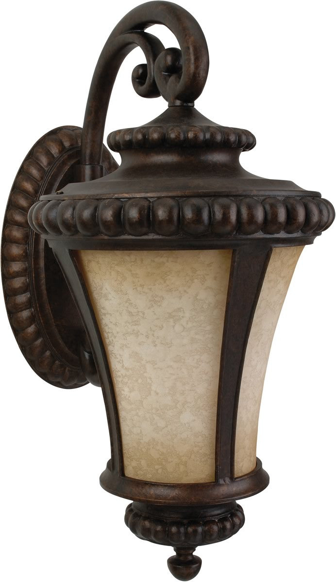 "32""h Prescott 3-Light Outdoor Wall Peruvian Bronze"