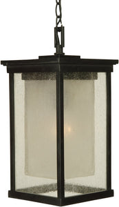 Exteriors Riviera 1-Light Outdoor Pendant Oiled Bronze Z372192NRG