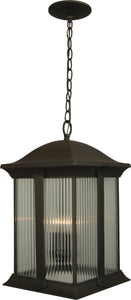 Exteriors Summit 3-Light Outdoor Pendant Oiled Bronze Z412192