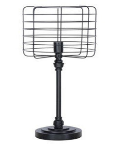 Javan Metal Table Lamp Antique Black