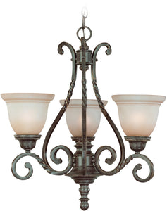 0-004890>Sutherland 3-Light Chandelier English Toffee