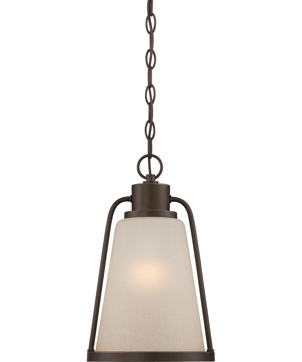 "9""W Tolland 1-Light Outdoor Mahogany Bronze"