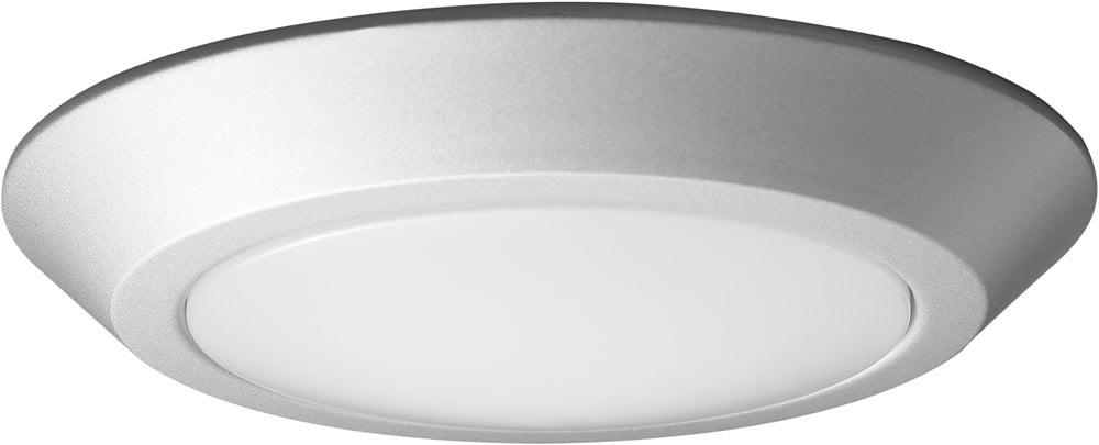 "7""W 1-Light Close-to-Ceiling Brushed Nickel"