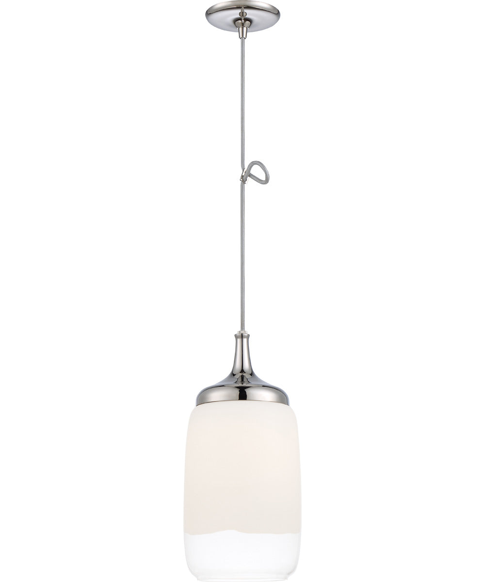Horizon 1-Light Pendant Polished Nickel
