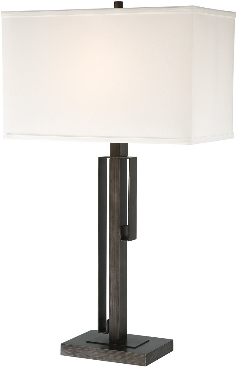 Kurtis 1-light Table Lamp Brushed Black