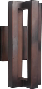 0-010920>Kai 3-Light LED Outdoor Wall Light Aged Copper